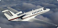 Citation Cj3 Light Jet Aircraft.