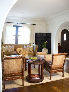 Charmean Neithart Interiors, LLC. - mediterranean - living room - los angeles - Charmean Neithart Interiors, LLC.