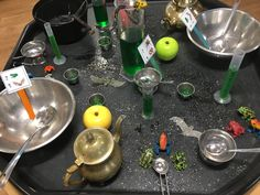 Potion making what's in the Witches Kitchen