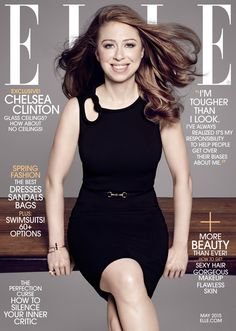 Chelsea Clinton Stuns on Cover of Elle, Talks ''Perfect'' Baby Daughter & (Coincidence!) Importance of Having a Female President Chelsea Clinton, Elle V Magazine, Fashion Magazine Cover, Magazine Covers, Digital Magazine, Chelsea Clinton, Vanity Fair, Marie Claire, Tapas, Journals