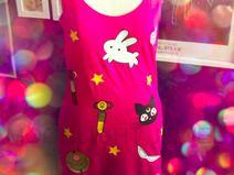 Moon Symbols Allover Tank Dress
