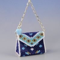 Tiny bead purse.