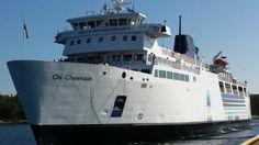 Chi-Cheemaun ferry boat...Tobermory, Ontario