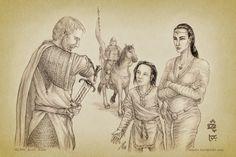 Narn:Hurin Departs to Nirnaeth by aautio.deviantart.com on @deviantART