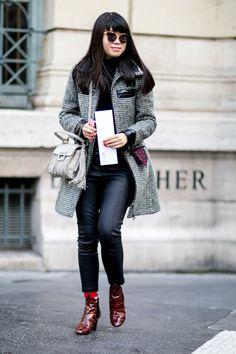 #LeafGreener super cute LV booties. Paris
