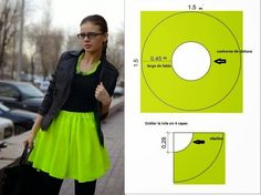 Mod@ En Line@ Gathered Circle Skirt