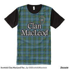 Scottish Clan MacLeod Tartan Shirt