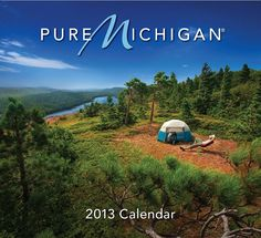 Sneak Peek at the 2013 Pure Michigan Calendar