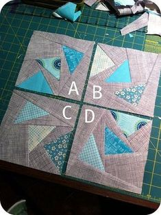 Stormy Skies Circle of Geese Block - Flying geese free quilting pattern for a… Patchwork Quilting, Patchwork Vol D'oie, Quilting Tips, Quilting Tutorials, Quilting Designs, Quilt Design, Machine Quilting, Quilt Block Patterns, Pattern Blocks