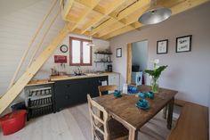 espace cuisine Pioka résidence Art et surf