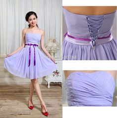 Find More Bridesmaid Dresses Information about 2014 New Bridesmaid Dresses  Wedding Party Strapless lilac light purple 29239fc718ef