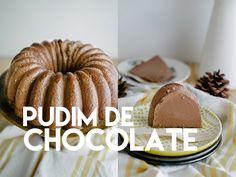 Lanche/Doce - Pudim de chocolate (Brigadeirão)