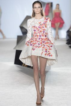 Giambattista Valli happens to be one of the couturiers that is pushing the…