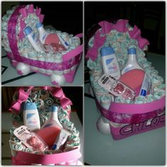 Carrito de pañales Baby Shower, Children, Cake, Diaper Carriage, Crafts, Pie Cake, Boys, Baby Sprinkle, Kids