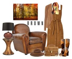 """It Started with a Brown Chair"" by penelopepoppins ❤ liked on Polyvore featuring Bobbi Brown Cosmetics, Heathfield & Co., M.i.h Jeans, rag & bone, Frye, Yves Saint Laurent, Dorothy Perkins, Victoria Beckham, Leather and suede"
