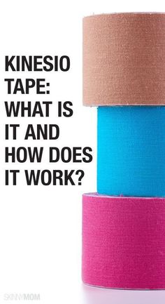 Get the skinny on kinesio tape for your injuries.
