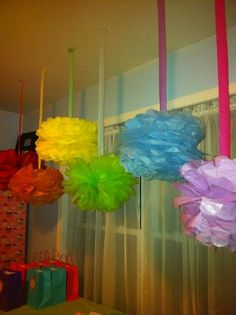 Candyland decor- mimi's project :)