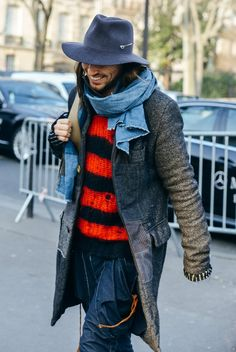 Spring 2015 Couture, Fall 2015 Menswear - Tommy Ton Street Style Photos - Vogue