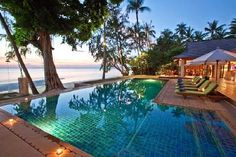 our Villa in Koh Samui on Lipa Noi beach. So excited for christmas!