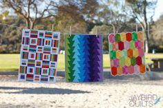 Mini Quilts by Jaybird Quilts