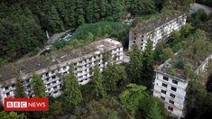 Akarmara, Abkhazia: Forgotten Soviet-era ghost town (BBC News - Home) Ghost Towns, Bbc News, City Photo, To Go, New Homes, Live News, Eastern Europe, World, Places
