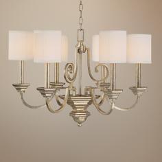 "Lamps Plus .Fifth Avenue Collection 6-Light 28"" Wide Chandelier"