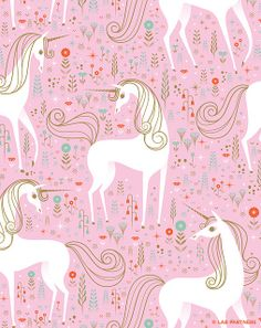Unicorn pattern by Lab-Partners