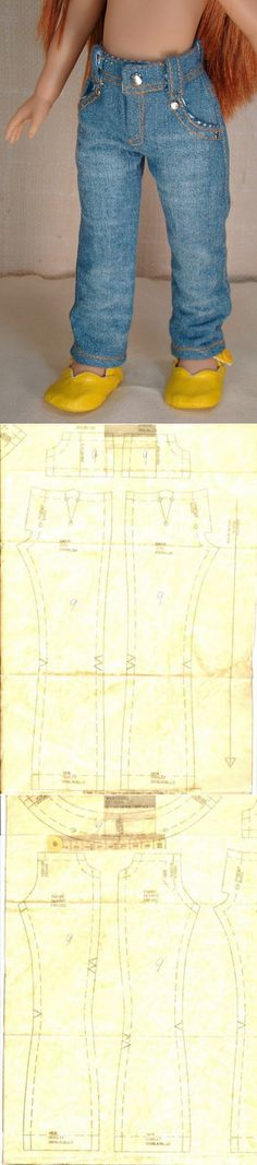 Джинсовые штанишки для Кристи - Куклы Paola Reina и Nicoleta - Страна Мам
