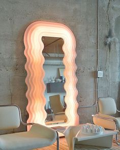 """""Ultrafragola"" mirror by Ettore Sottsass, made by Poltronova, circa "" Decoration Inspiration, Decoration Design, Room Inspiration, Interior Inspiration, Mirror Inspiration, Casa Jenner, Jenner House, Interior Architecture, Interior And Exterior"