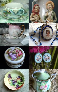 the most beautiful vintage porcelain products by emine incekol on Etsy--Pinned with TreasuryPin.com