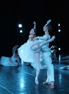 Semyon Chudin and Anna Nikulina in 'La Bayadere'
