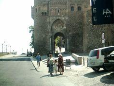 Mi esposa, Kory y mama en Toledo.