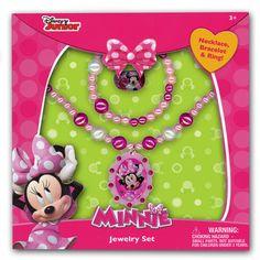 mm1239NJ Minnie Mouse accessory box set July 2015 availability
