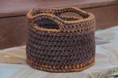 Handmade Crochet Basket made by Mrs. V's Crochet