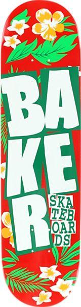 Baker Stacked Floral Deck - new at Warehouse Skateboards! #SpringArrivals #Skateboards