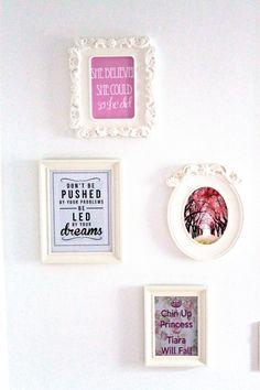 Juliana Chow Blog: Vanity & Decorative Wall