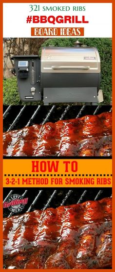 321 smoked ribs smoked ribs in smoker, electric smok… – Famous Last Words Ribs In Oven, Ribs On Grill, Pork Ribs, Bbq Grill, Grilling, Barbecue, Smoker Recipes, Rib Recipes, Best Smoked Ribs