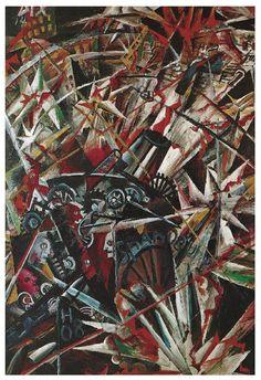 Otto Dix, The War (Artillery), 1914