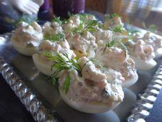 Ost, Swedish Recipes, Lchf, Tapas, Potato Salad, Appetizers, Cooking Recipes, Pudding, God Mat