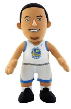 Poupluche 25 cm Stephen Curry (White Edition) - Golden State Warriors - 22,00 €