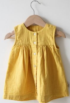 Organic Cotton Dress | Poudre Organic
