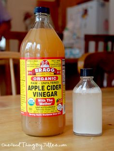 """Make your own natural """"Skin Brightener"""" Ingredients:1/2 ounce organic apple cider vinegar, 3 ounces mineral water (or distilled water), 5 plain aspirin tablets, uncoated Instructions: 1. Dilute 1/2 ounce organic apple cider vinegar with 3 ounces water. Use pestle and mortar to crush aspirin tablets. Add aspirin tablet mixture to water and vinegar mix. Apply toner sparingly to areas with acne, rough skin or enlarged pores. The solution will stay fresh for one month in the refrigerator."""