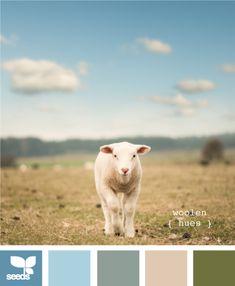 woolen hues