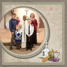 layouts for scrapbooking 1st communion   Josh's First Holy Communion - LHS - Digital Scrapbook Place Gallery