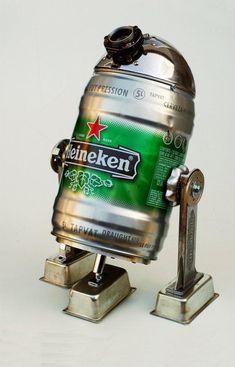 r2d2 beer dispenser, every geek's dream