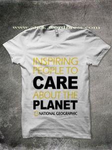 National Geographic T-Shirt  - banres inspiring white