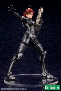 A Kotobukiya female character statue that isn't all overly breasty and bent over? FemShep says this is call for celebration!
