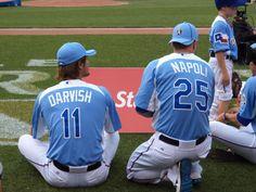 Darvish and Napoli