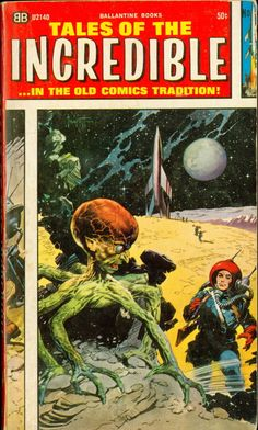 Tales of the Incredible comics, art by Frank Frazett
