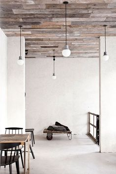 HOST RESTAURANT: RUSTIC SCANDINAVIAN INTERIOR + MINIMALISM • DESIGN. / VISUAL.: